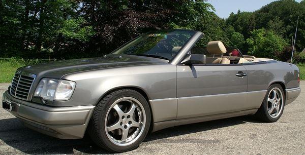 Mercedes Benz E320-Cabriolet
